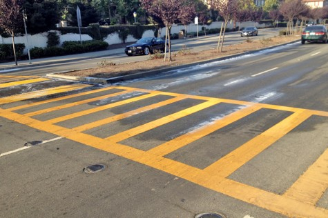 Man dies in crosswalk just off campus
