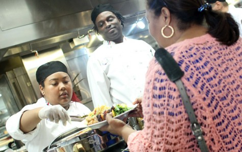 Culinary students test cooking abilities