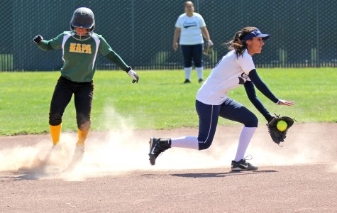 Softball season ends in dramatic blowout