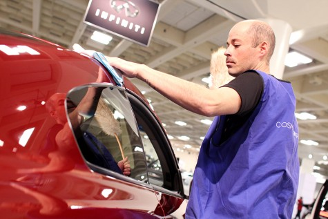 Regional auto show lures crowd