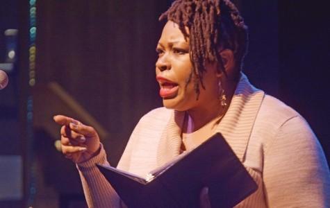 Oral interpretations set dramatic scenery