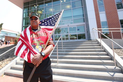 Marine supports comrades, promotes veteran population