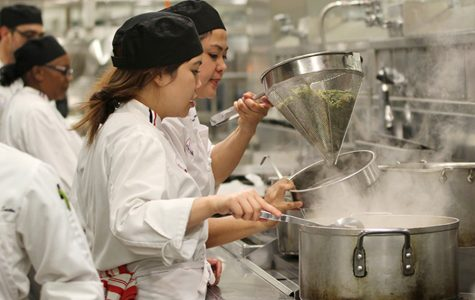 Iron Chef competition fills locale