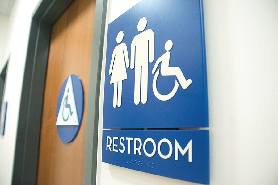 Gender neutral restroom gives population a 'safe zone' on campus