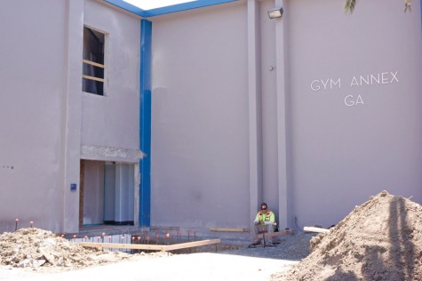 Two-story building receives external lift