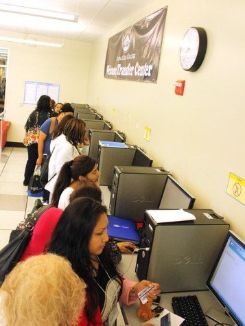 Welcome/Transfer Center offers 'helpful' resource for students