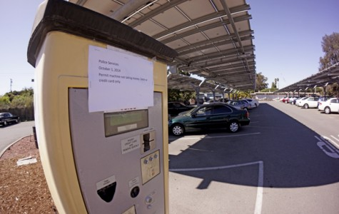 Faulty permit machine unable to accept dollars