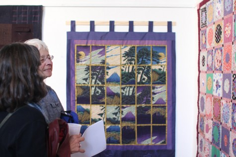 Quilt art exhibition attracts community