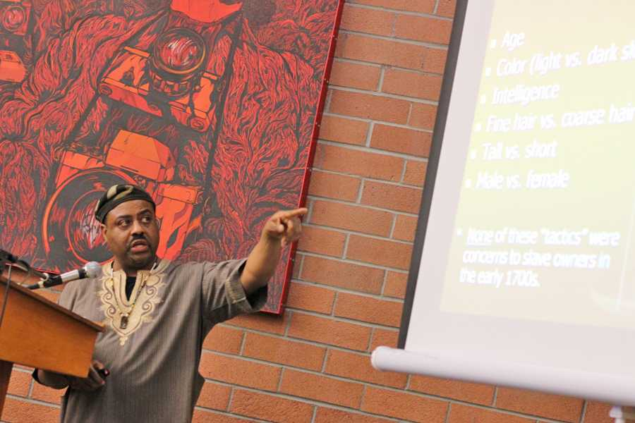 Historian dispels myths surrounding slavery