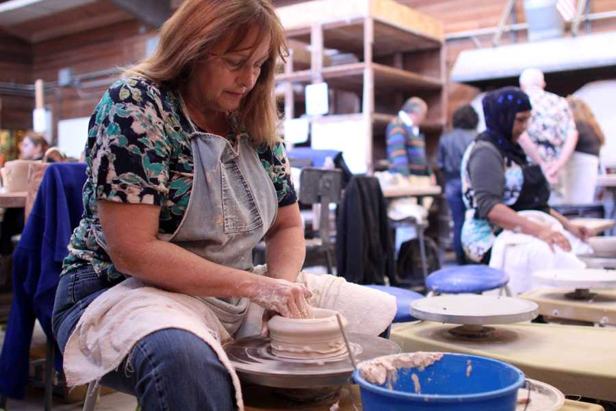 Ceramic auction to fundraise for art supplies