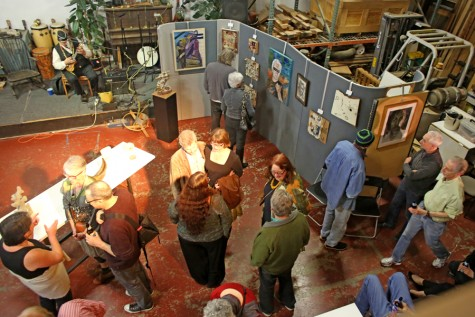 Art party's second installment 'fascinating'