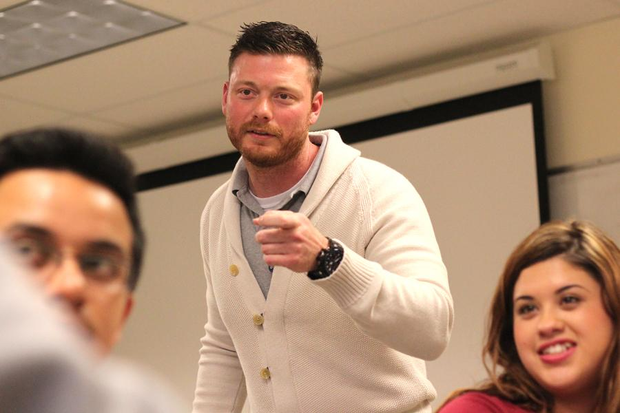 Newly hired full-time speech professor Randy Carver embodies and embraces the diversity found at Contra Costa College and is able to relate to speech and debate members. Carver hopes students think his method of teaching is immersive and passionate.