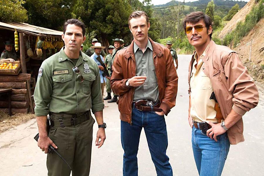 %28L+to+R%29++Maurice+Compte%2C+Boyd+Holbrook+and+Pedro+Pascal+star+in+NARCOS.