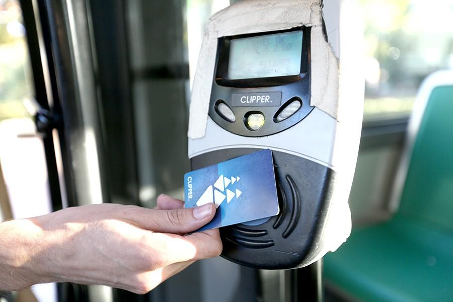 The AC Transit EasyPass program if approved, could implement a fee of $35 to $45 for students to gain total access to the bus system. The EasyPass imprint can also be added to the back of a Clipper Card.