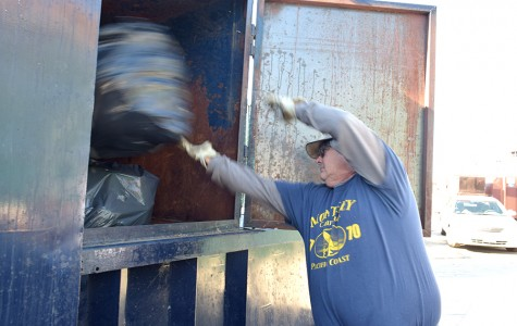 Compactor crushes waste, generates bonus funds