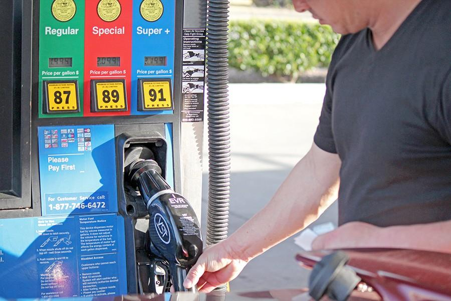 Gas prices have reached a new low since January with crude oil prices dropping down to $27 per barrel. Reasons for the decrease in price may include competition between oil companies and weakening demand for alternative sources of energy.