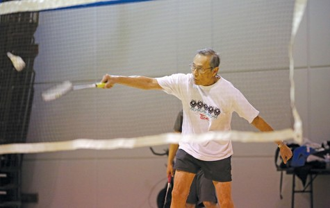 Badminton yields more than 'good workout'