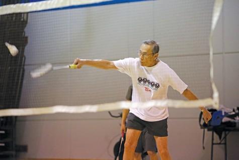 Badminton yields more than 'good workout'