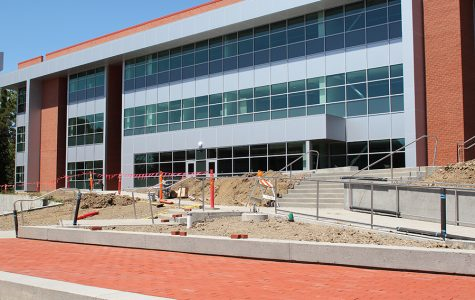 The General Education Building of the Campus Center and Classroom Project is set to open in August.