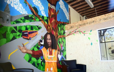 Mural represents communal growth, individual success