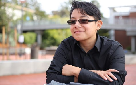 Business major Christian Sanchez was born female but identifies as male and is in the process of transitioning from one gender to another. Sanchez said it is easy for people to confuse pronouns and sometimes they cannot accept the change someone goes through.