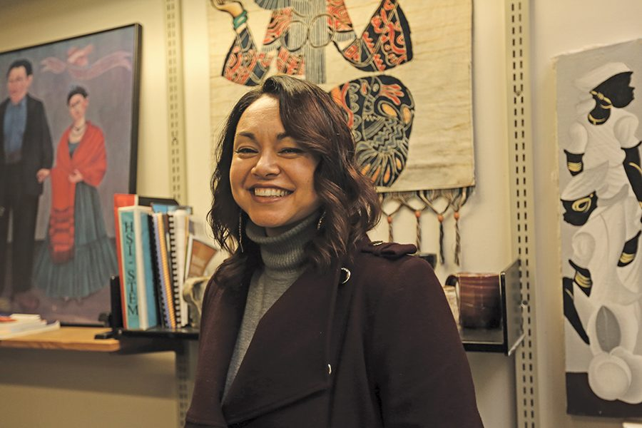 Dean of institutional Effectiveness and Equity Padilla confidently steps into a prominent role that will allow her to develop equity plans for underserved communities.