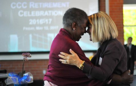 Retirees bid farewell to college 'family'