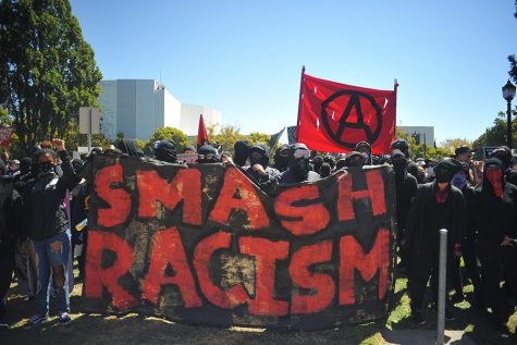 Protesters, organizers revolt for freedom of speech