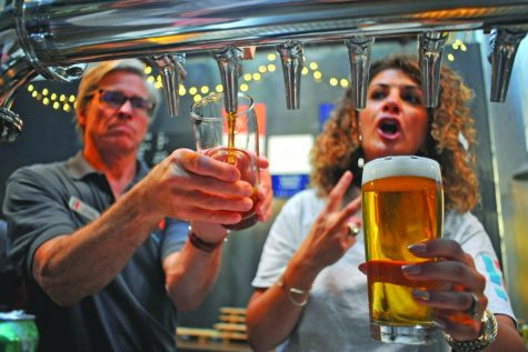 Cheers, beers garner funds