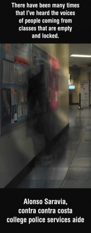 Shadowy figures leave chills down the spines of college personnel