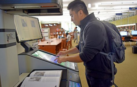 Library advances technologically, installs scanner