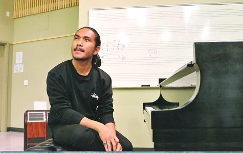 Ninoangelo Lastimosa is a new student in the music composition classes. After completing the program and transferring to a four-year college in 2019, he hopes to have some of his original compositions recorded by the music department.