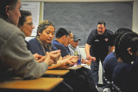 Hess mentors students toward a life of service through discipline, bravery, prowess