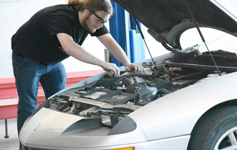 Fixing cars fuels passion, drives ambition