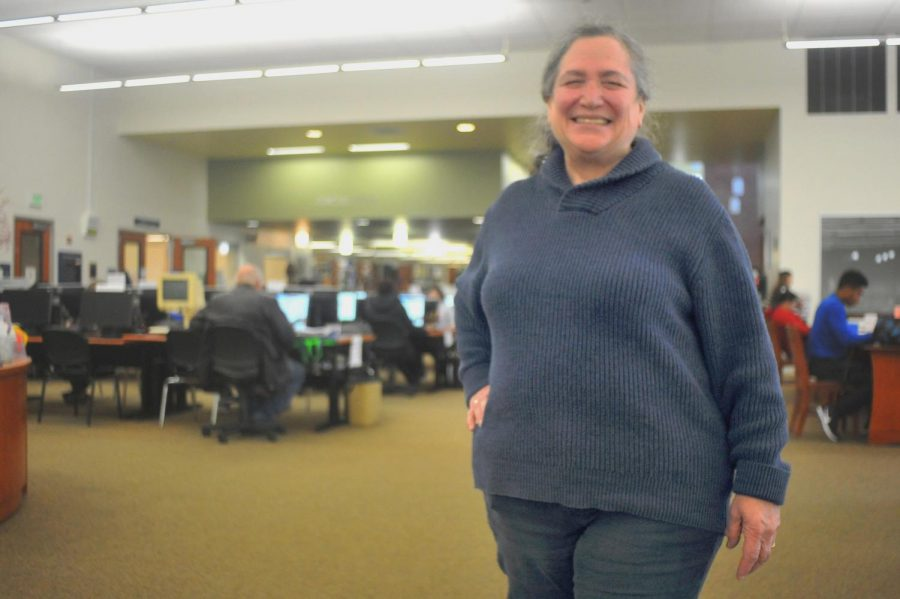 Librarian Judith Flum has been working for 46 years, Contra Costa College Judy Flum will retire. Flum has been working at the college library for more than 18 years.