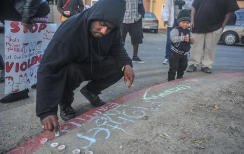 Community gathers to support families after a week of heavy violence