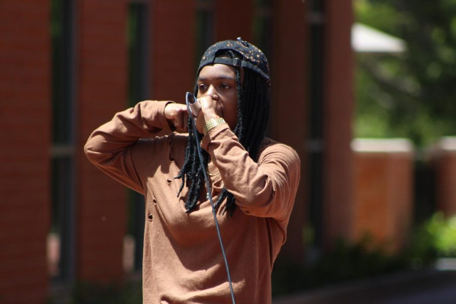 Talents collide at Campus Center Plaza