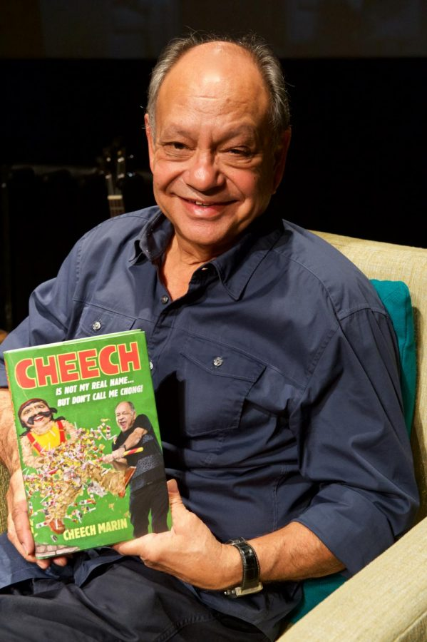 Latino Thought Makers present cultural icon Richard 'Cheech' Marin for intimate conversation at Knox
