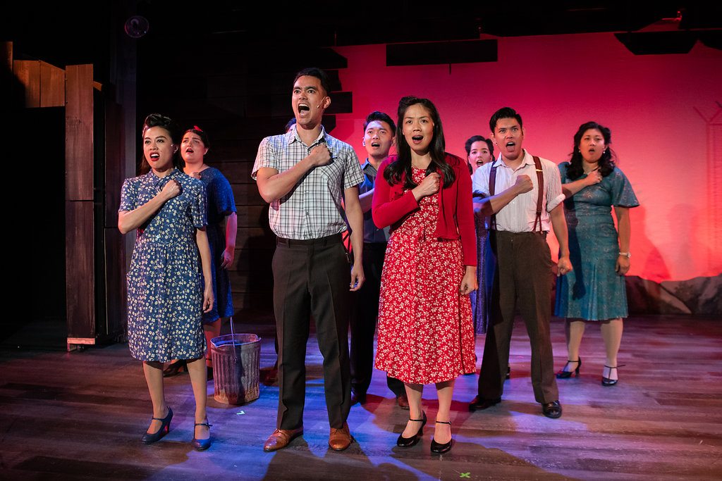 """Allegiance"" is the new musical running until Oct. 21 at the Contra Costa Civic Theatre in El Cerrito.  The play follows a group of Japanese-Americans struggling to survive in the internment camps of the 1940s."