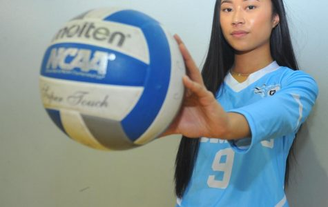 Freshman setter takes on role as leader on court, motivator