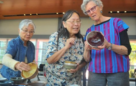 Empty Bowls are served with savory culinary soups