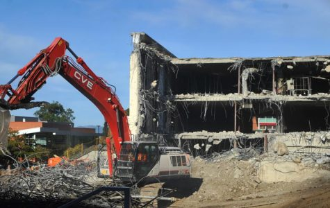 Demolition process rolls on