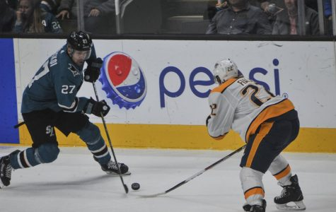 Late game heroics help Sharks rally past Predators