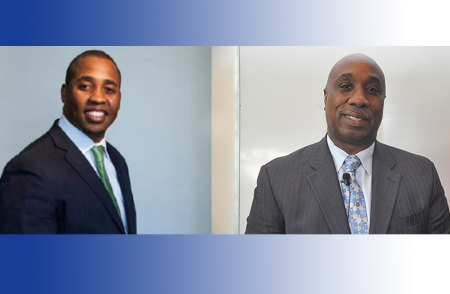 Howard Irvin (right) and LeRodrick Terry (left) are two of the finalists for vice president.