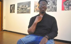 Artist embodies resilience through painting, art
