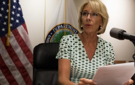 U.S. Secretary of Education Betsy DeVos has proposed changes to current Title IX policy after a wave of accusations have come forth challenging the reputations of many popular and well-known people, such as Supreme Court Justice Brett  Kavanaugh.