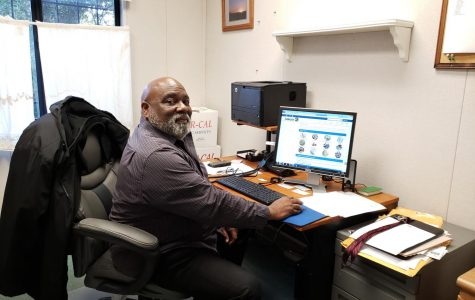 Dwight Calloway serves as the interim custodial manager of Contra Costa College beginning January 2019.