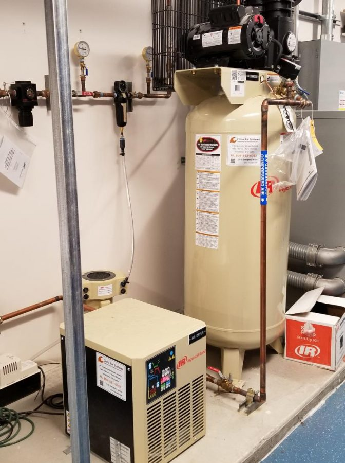 A transformer located in an AA Building upstairs storage room reaches 140 degrees Fahrenheit setting off a fire alarm.