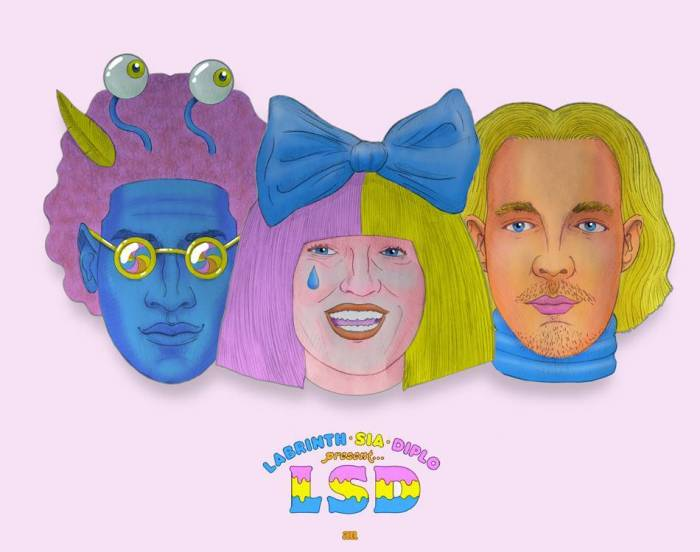 Sia, Labrinth, and Diplo teamed up as a pop supergroup LSD.