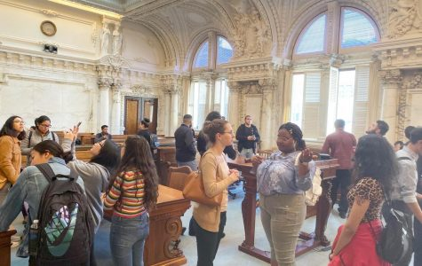Political science classes take an appellate adventure